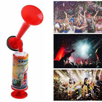 EE_ EG_ HANDHELD AIR PUMP LOUD HORN PARTY FOOTBALL SPORTS EVENTS CHEERING SQUAD