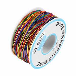 P/N B-30-1000 15M Colored 8-Wire Insulation Wrapping Wire Cable Tinned copper