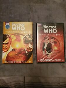 Doctor Who: Enemy of the World (DVD - 2014) w/Rare Slipcover