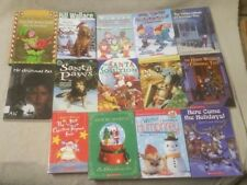 Lot of 14 CHRISTMAS WINTER Children's Chapter Books Scholastic Teacher Class VGC