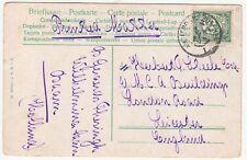 Netherlands: Postcard, Hindeloopen; to Leicester, 3 April 1905 [?]