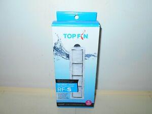 TOPFIN NEW! RETREAT RF-S SET OF 6 AQUARIUM FILTER CARTRIDGES                  A5