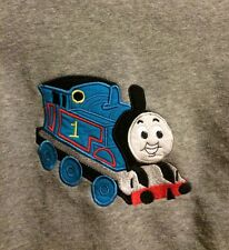 Thomas Tank Engine Applique Hooded Sweatshirt Zipper 2T 2 Toddler Hoodie Train
