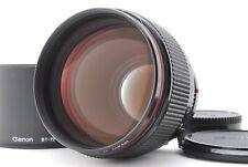 【Mint】Canon FD 85mm f/1.2 L MF Lens w/ Hood  from Japan-#1778