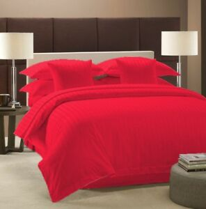 Deep Pocket Bedding Collection 1000 TC Egyptian Cotton Olympic Queen Striped