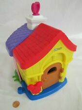 Fisher Price Little People MAGIC DISNEY MICKEY MINNIE HOUSE STRUCTURE only