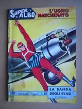 SUPER ALBO L'UOMO MASCHERATO n°139 1965 ed. Spada [G466] PESSIMO