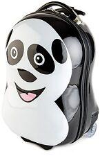 BRUBAKER Suitcase Luggage for Kids - Panda & Piggy