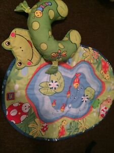 Baby mat and tummy time cushion