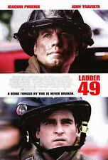 LADDER 49 Movie POSTER 27x40 John Travolta Joaquin Phoenix Jacinda Barrett