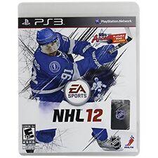 NHL 12 For PlayStation 3 PS3 Hockey 2E