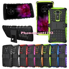 Shock Proof Heavy Duty Armour Hybride Case Cover For Various LG Mobile Phone