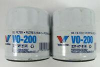 LOT OF 2 - Valvoline VO-200 Oil Filter NOS