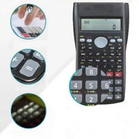 Handheld Student's Scientific Calculator School Portable Mathematics Displ LNK