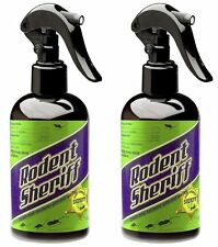 2 Pack Rodent Sheriff Natural Spray Pest Control Get Rid Rats And Mice Easily