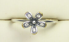 S925 ALE PANDORA Flower Ring with Cubic Zirconia, Size O - 2017318