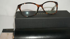 BVLGARI RX Eyeglasses New Authentic Havana Crystal BV4109 5243 54 16 140