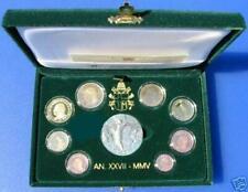 Pièces en euro du Vatican, année 2005