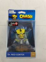 Dr. Neo Cortex - Crash Bandicoot - Totaku - No. 31 - Foam Figure - New- Free P&P