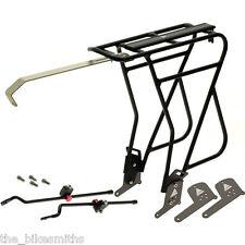 "Axiom Journey Uni-Fit MK3 Standard/Disc Bike Rear Rack Black 26"" 27.5"" 700c 29"""