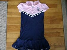 GYMBOREE DRESS SIZE 9 YEARS HOMECOMING KITTY MISS MOUSE CHEER TEAM CHEERLEADING