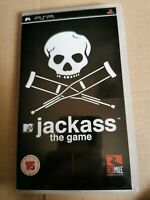 JACKASS : THE GAME   - Rare Sony PSP Game