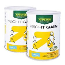 Appeton Weight Gain Powder for Adults 2x900g Increase Body Weight[FAST SHIPPING]