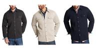 NEW Weatherproof Vintage Men's Sweater Fleece Shirt Jacket - VARIOUS SIZES