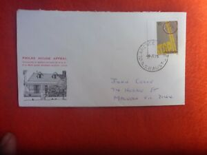 1975 PHILAS HOUSE APPEAL POSTALLY used  COVER STAMP CLARENCE ST CDS