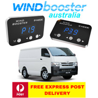 Windbooster 9-mode throttle controller to suit Toyota Hiace 2006 Onwards