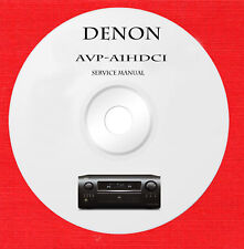 Denon AVP-A1HDCI service manual on 1 dvd in pdf format
