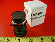 Cognex LMC-06F Lens w/locks Moritex 6mm C Mount DVT Sensors CCTV ML-0614 New