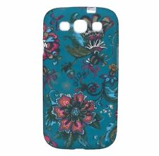 Oilily Sea of Flowers Samsung Galaxy SIII Case Etui Hülle Blau Neu