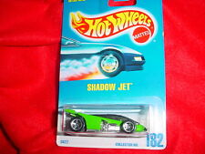 HOT WHEELS #182 SHADOW JET WITH 5 SPOKE RIMS FREE USA SHIPPING