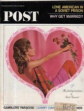 1965 Saturday Evening Post February 13 - Bill Harrah; Reno NV; Sammy Davis Jr