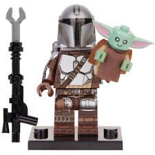 The Mandalorian & Baby Yoda - Star Wars Lego Moc Minifigure Toys Gift