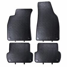 FLOOR MATS FIT AUDI A4 B6 (2000-2006) RUBBER BLACK TAILORED