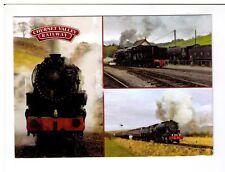 Postcard: Multiview - Churnet Valley Railway, Stoke on Trent, Staffordshire