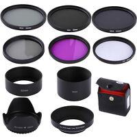 52MM UV CPL FLD ND2 4 8 ND Lens Filter Kit for Nikon D5500 D5300 D3300 18-55mm