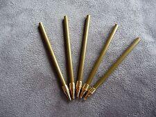 Kugelschreiber Ersatzminen 5x Steckminen schwarz Holzkuli drechseln 60 mm Pen