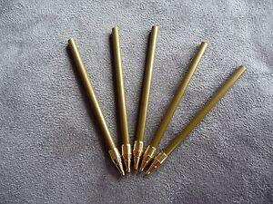Kugelschreiber Ersatzminen 5x Steckminen Holzkuli drechseln blau 60 mm