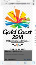 Commonwealth Games package - Gold Coast 6-9 April 2018