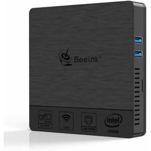 Beelink BT4 - Mini Ordinateur Personnel Windows 10,Intel Z8500,RAM 4 Go,Mem 64