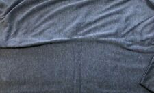 """Denim"" Polyester Viscose Fabric / T-shirt / dress making / sewing 2M length"