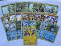 Pokemon TCG McDonald's 2021 25th Anniversary Card Full set of 25 Holo Foil!
