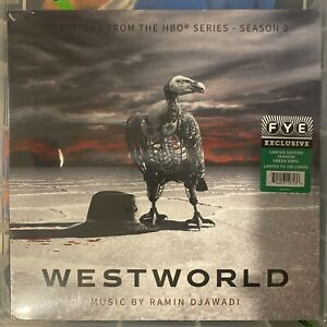 NEW! Ramin Djawadi WESTWORLD Season 2 OST LP Limited Edition GREEN Vinyl