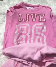Victorias Secret Pink Women's XSmall Lot Of Two Long Sleeve Blouses