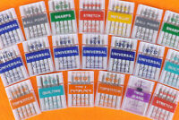 Klasse pack of 5 Ballpoint Sewing Machine Needles  - Stretch - 80/12- 90/4 Mix