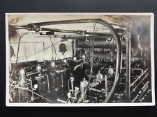 WW1 Royal Navy MOTOR LAUNCH Engine Room ML Shows 2 Engines 1917 RP Censor Passed