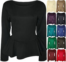 Plus Size Polyester Scoop Neck Stretch Women's Tops & Shirts